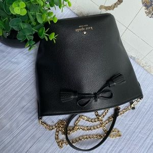 KATE SPADE ♠️ black CROSSBODY bag